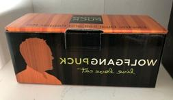 Wolfgang Puck Electric Dual Salt Pepper Mill Blue New In Box