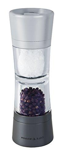 Cole & Mason Lincoln Duo Salt and Pepper Grinder Combo, Acry