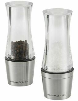 NEW Cole & Mason Downton Salt and Pepper Mills Gift Set Free