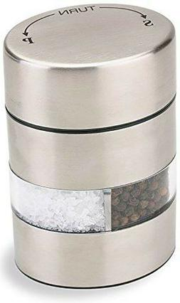 OLDE THOMPSON Double Grind Dual Salt and Pepper Mill ~ 2 in