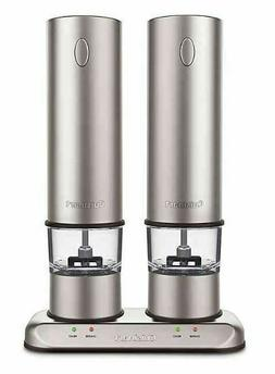 Cuisinart® Rechargeable Electric Salt and Pepper Mill Grind