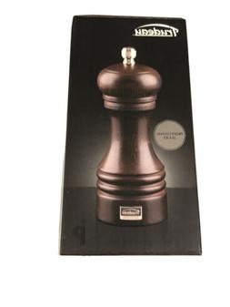 Chef Specialties Wood Salt Shaker and Pepper Mill Set